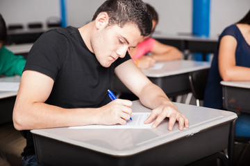 Admission test for high school