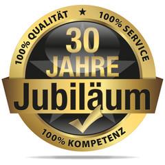 30 Jahre Jubiläum - 100% Qualität, Service, Kompetenz