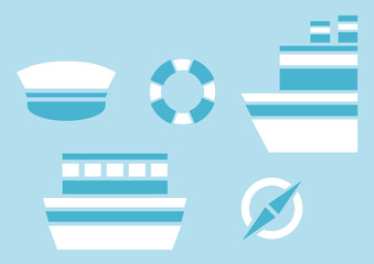 sailing and nautical design elements