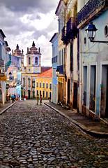 Pelourinho in Salvador de Bahia, Brazil