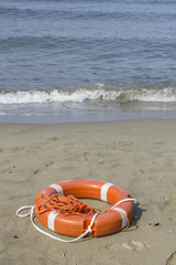 Salvagente  a  mare