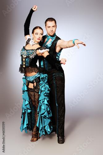 Obraz na Szkle show dance