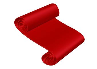 kırmızı rulo kağıt