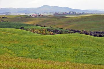 Borghi e vedute di Toscana - le colline di Volterra