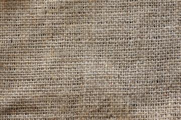 texture of jute bag, macro