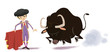 Постер, плакат: corrida de toros