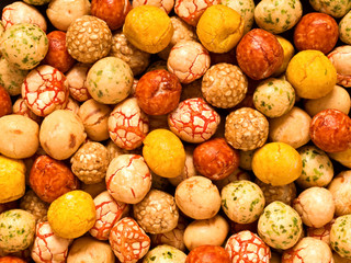 japanese peanut snack
