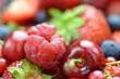 obraz - mieszanka owoców,...
