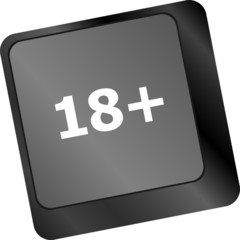 18 plus button on computer keyboard keys