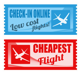 Cheapest flight and low cost coupons