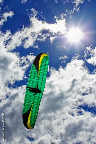 Paragliding in the Crown Range NZ