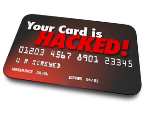 Your Credit Card is Hacked Stolen Money Identity Theft
