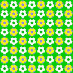 soccer pattern - seamless design vector illustrations