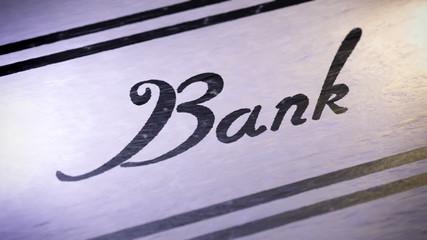 """Bank"". looping."