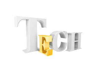 golden tech symbol
