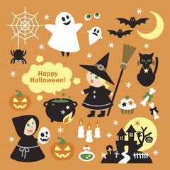 Halloween elemenrs