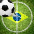 Brasilianischer Fußballplatz