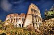 Fototapeta Coloseum - Noc - Pomnik Artystyczny