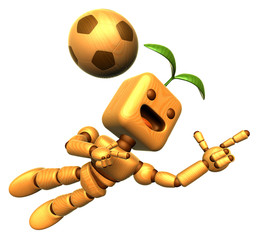 3D Wood Doll Mascot is a powerful jumping. Wooden Ball Jointed d