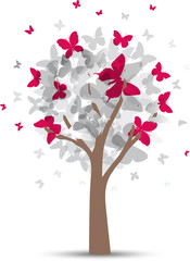 Albero Farfalle