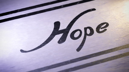 """Hope"". looping."