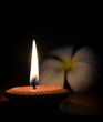 canvas print picture - candle