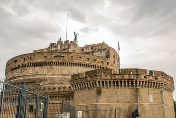 Saint Angel Fortress in Rome, Italy