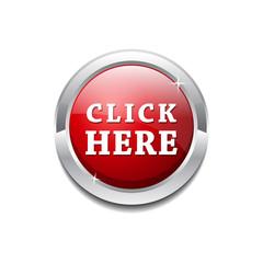 Click Here Vector Icon Button