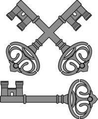 castle key. first variant