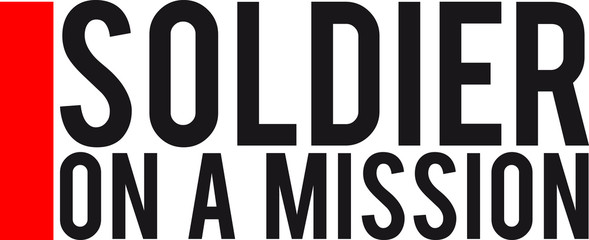 Soldier on a Mission logo Design