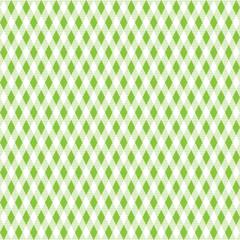 Tischdeckenmuster Rauten hellgrün Vektor - nahtlos wiederholbar