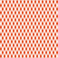 Tischdeckenmuster Rauten rot Vektor - nahtlos wiederholbar