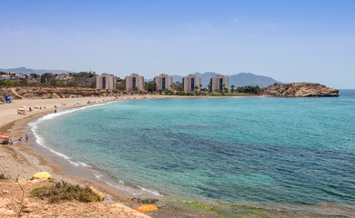 Playa De Mojon at Mazarron Murcia Province Spain