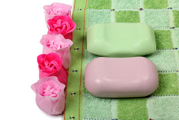 Soap of rose