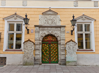 Brotherhood of the Blackheads house in Tallinn, Estonia