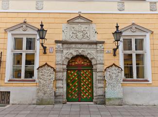 Brotherhood of the Blackheads house in Tallinn, Estonia
