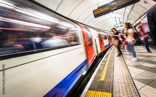canvas print picture London Tube
