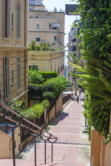 Principality of Monaco, France, July 5, 2011. Typical view