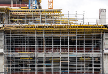 Scaffold for construction works