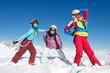 vacances sport d'hiver enfants