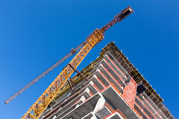 High-rise building construction