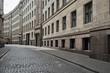 Deserted city street. Europe. - 66605554
