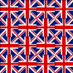 British seamless pattern