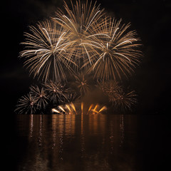 Fireworks - Ignis Brunensis in Czech republic in Brno 18.6.2014