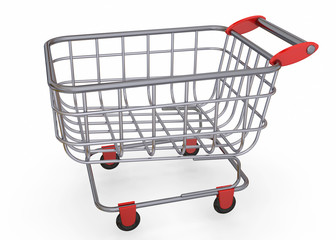 Shopping Cart - 3D