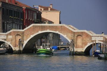 le pont des trois arches à Venise