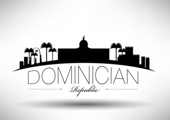 Dominician Republic Typography Design