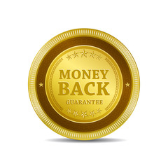 Money Back Guarantee Button