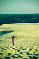 marcher sur la dune