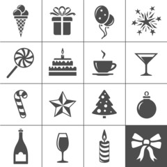 Holidays and event icons